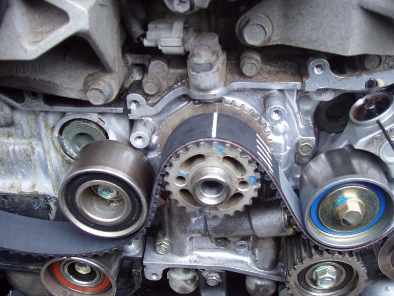 how to s timing belt and water pump replacement rh wrxinfo com wrx timing belt diagram subaru impreza timing belt diagram