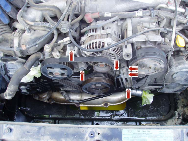 How To's Timing Belt And Water Pump Replacementrhwrxinfo: 2004 Subaru Wrx Thermostat Location At Gmaili.net