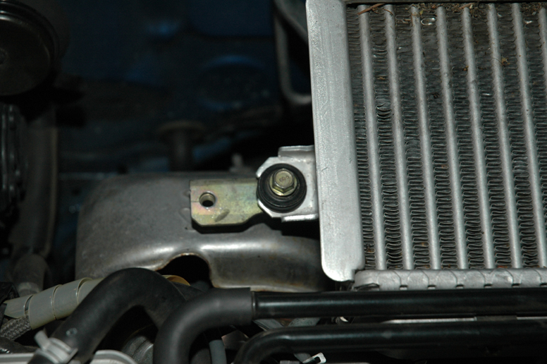 Note the extra bolt-hole Subaru thoughtfully placed in just the right spot for an STI intercooler.
